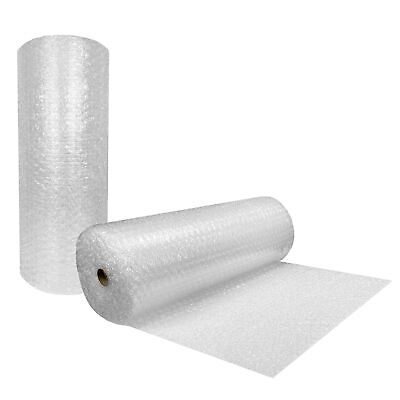 "Bubble Cushioning Wrap Roll 48"" Wide x 130 Ft - Large 1/2"" Bubbles perforated"