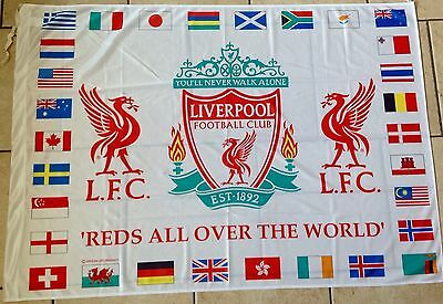 Liverpool Official Flag - Reds All Over The World