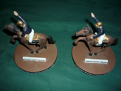 H.B.P.A. Horsemen Helping Horsemen 6 inch Bobble Head Statues- Lot of 2