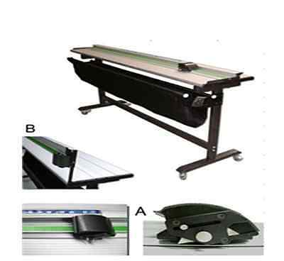 H-40 Foam board PVC Trimmer Cutter with Support Stand uk1