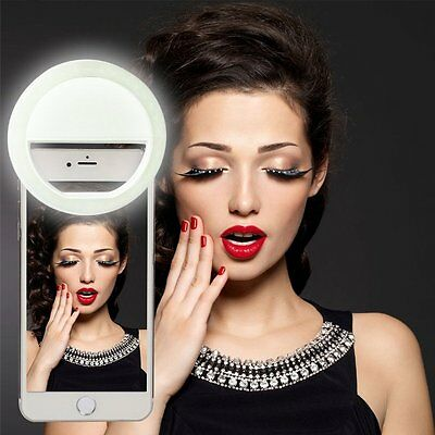 Poplar LED Camera Photography Ring Selfie Light For iPhone 6s Plus Andriod