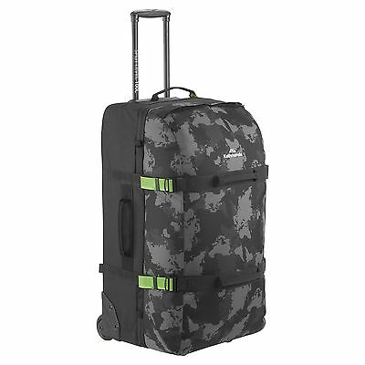 Kathmandu Split Level 100L Wheeled Luggage Suitcase Trolley Travel Bag v2 Black