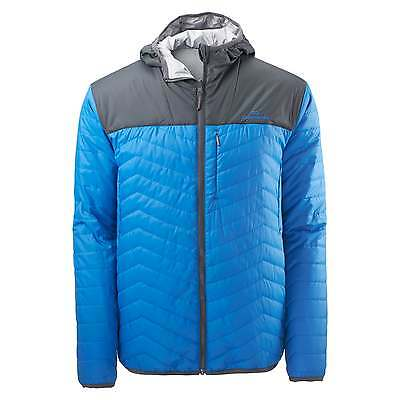 Kathmandu Seymour Reversible Mens Hooded Insulated Synthetic 2 in 1 Jacket Blue