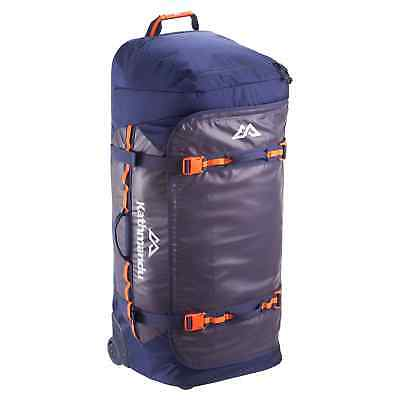 Kathmandu Super Tanker 120L Trolley Luggage Holdall Sports Gear Travel Bag v3
