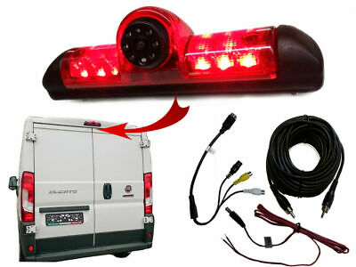 Dolphin Fiat Ducato Reversing Camera Kit With Integrated Brake Light OEM Style