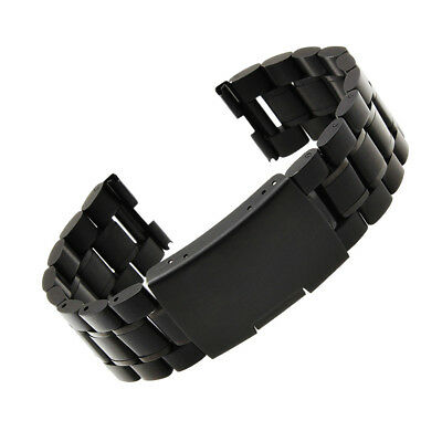 Metal Strap Bracelet Band Replacement for Motorola Moto 360+Connector PC718