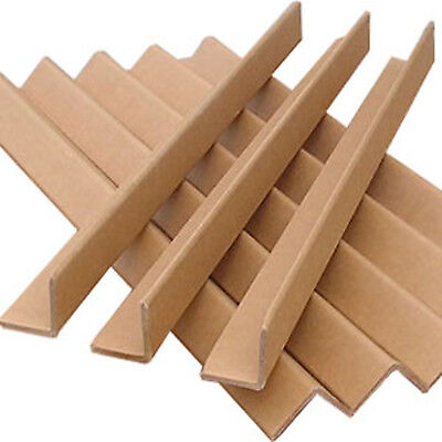 50 x angle boards cardboard packaging protection corner safety 1m