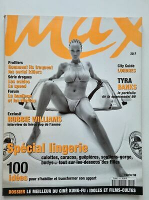 Magazine / revue MAX french #110 février 1999 Tyra Banks