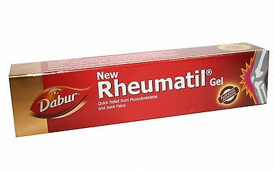 Rheumatil Gel | Quick Pain Relief | Arthritis | Dabur | 30gm
