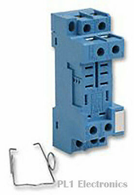Finder    96.72Sma    Socket & Clip, Din, Dpco, Relay