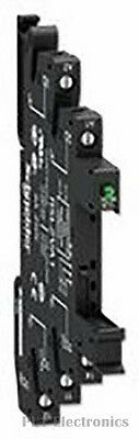 Schneider Electric    Rslzva1    Relay Socket, 5Pin, 6A, 300Vac, Screw