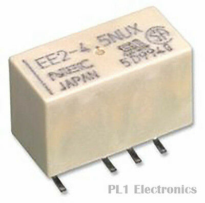 KEMET    EE2-3NUH-L    Signal Relay, EE2 Series, Non Latching, DPDT, SMD, 2 A, 3