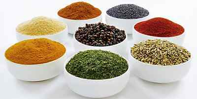 100% Pure Ceylon Spices-Black Pepper,Cinnamon,Cloves,Mustard,Chilli,Curry Powder