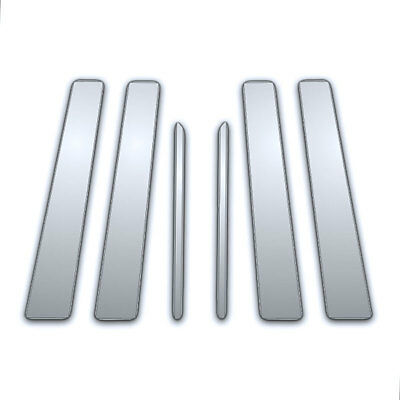 2010-2016 Toyota 4 Runner 6Pc Chrome Pillar Side Covers