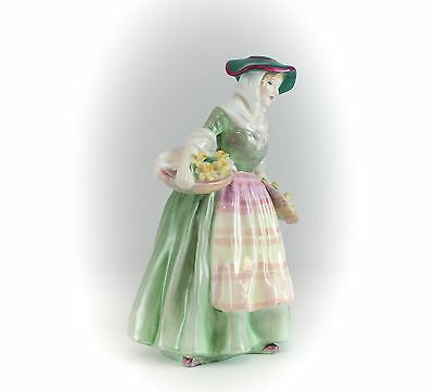 Royal Doulton Hand Painted Porcelain Figurine Daffy Down Dilly. HN1712 ©1935.