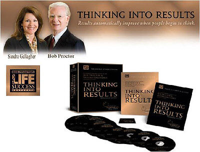 Proctor-Gallagher THINKING INTO RESULTS Audios & Workbook for Positive Results