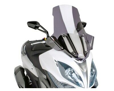 Windschild PUIG V-Tech Touring dark für Kymco Xciting 400i