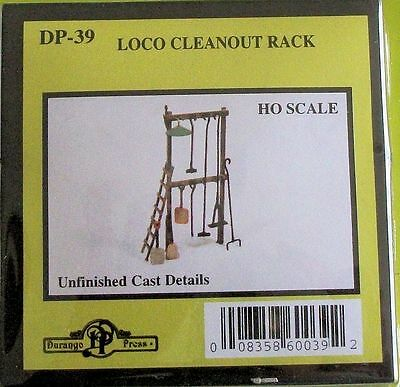 Model Train Accessories HO - Loco Cleanout Kit from Durango Press