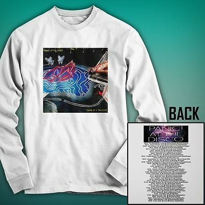 Panic At The Disco That OF Tour 2016 New Long Sleeve Shirt Size S to 3XL