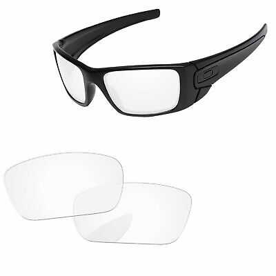 753cf1b0d62f6 PapaViva Crystal Clear Replacement Lenses For-Oakley Fuel Cell Sunglasses