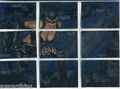 Catwoman The Movie - Fearless - Chase Card Set (9) - Inkworks 2004 - NM