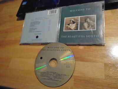 RARE OOP ORIGINAL UK The Beautiful South CD Welcome To 1989 Housemartins gold cd