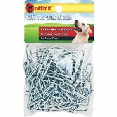 Extra Heavy-Duty Dog Tie-Out And Runner Chain-4.6m HVY TIE-OUT CHAIN. Shipping I