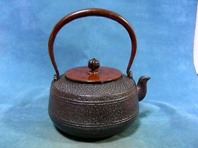 Japanese Antique Iron Tea Kettle Tetsubin teapot Chagama #6739