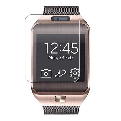 NEW 9H Hardness Tempered Glass Screen Protector Film for DZ09 Smart Watch +Wipes