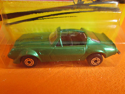 matchbox made in bulgaria Pontiac 1988 vintage model diecast .new production