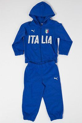 Puma Tracksuit Italy FIGC Baby #750051 01