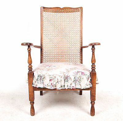 Antique Oak Bergere Bedroom Chair Nursing Chair Swedish Art Nouveau