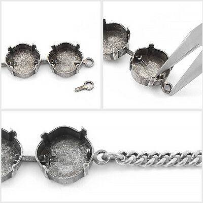 End-loop for jewelry cup chain 20pcs packs
