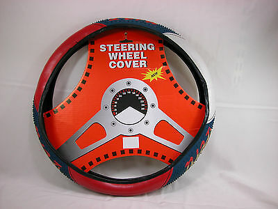 Peru Cubierta del Volante Country Flag Steering Wheel Cover for Small Car