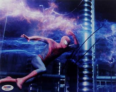 Andrew Garfield Signed 8x10 Photo PSA/DNA COA Amazing Spider Man Auto Autograph