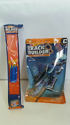 Hot Wheels Track Builder System Straight Track & Launch It Accessory Set New