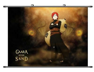 Japanese Anime Naruto Gaara of sand Home Decor Poster Wall Scroll 60*45CM H30