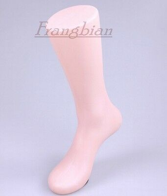 1x Male Mannequin Right Foot Leg With Magnetic Bottom For Sox/Sock Display