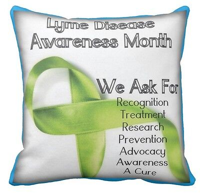 Lyme Disease Awareness Month Cushion