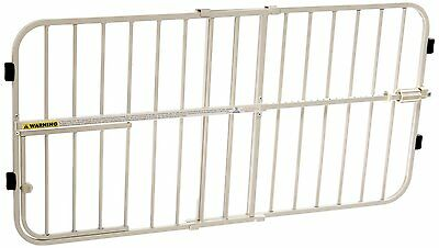 Carlson Adjustable 66-106cm Gate, with Small Pet Door White, Quick & easy set up