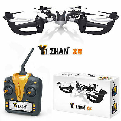 Mini Tarantula X4 - 2.4GH RC Drone Quadcopter Helicopter Silver NEW Awesome