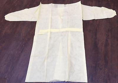 Unisex Disposable NHS yellow patient gown hospital
