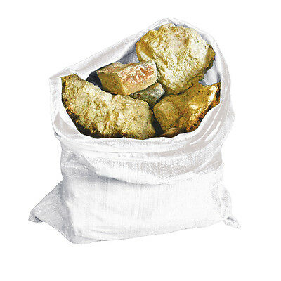 10pk Heavy Duty Rubble Sacks Pack Woven Bags Garden Bin Waste Refuse