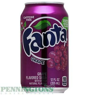 Pack of 12 Cans of Fanta Grape 12fl oz (355ml)