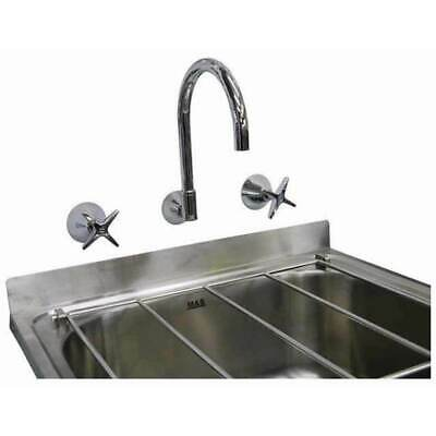Cleaners Wall Sinks Single Bowl Mop Laundry Trough Aspen Tap Sink Set 45x55cm