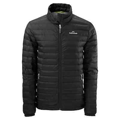 Kathmandu Heli Mens Lightweight Duck Down Coat Warm Puffer Jacket v2 Black