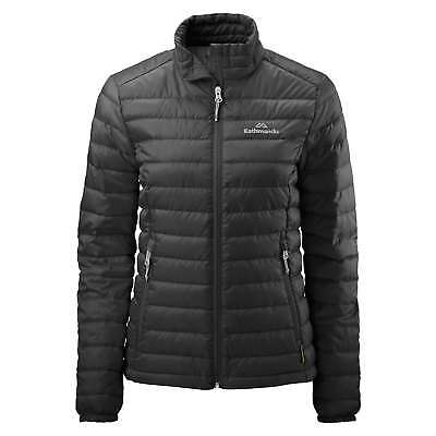 Kathmandu Heli Womens Lightweight Duck Down Coat Warm Puffer Jacket v2 Black