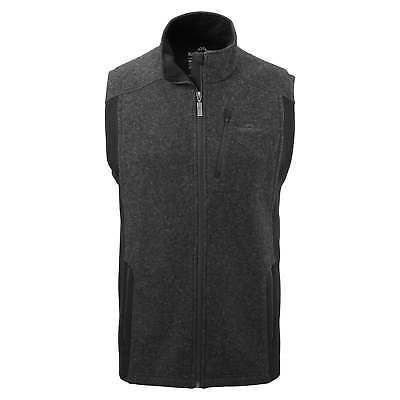 Kathmandu Edge Mens Merino Outerwear Full Zip Warm Winter Vest Jacket v2 Grey
