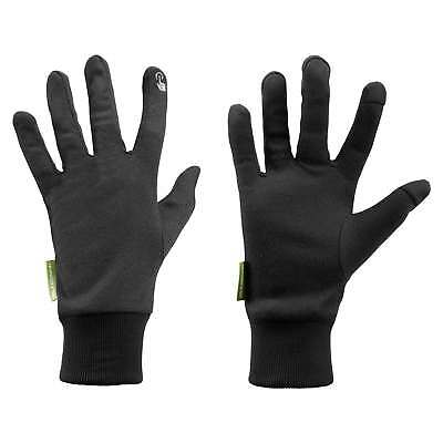 Kathmandu Winter Snow Ski Sports Glove Liners with Touch Technology Black