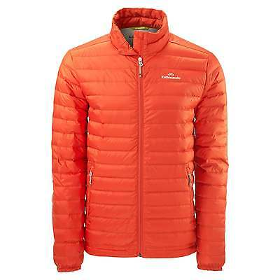 Kathmandu Heli Mens Lightweight Duck Down Coat Warm Puffer Jacket v2 Red